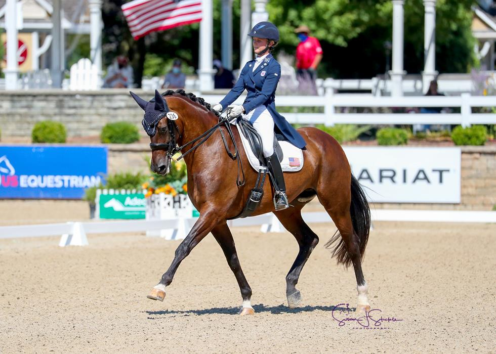 Young Riders and Young Horses Highlight Saturdays Action