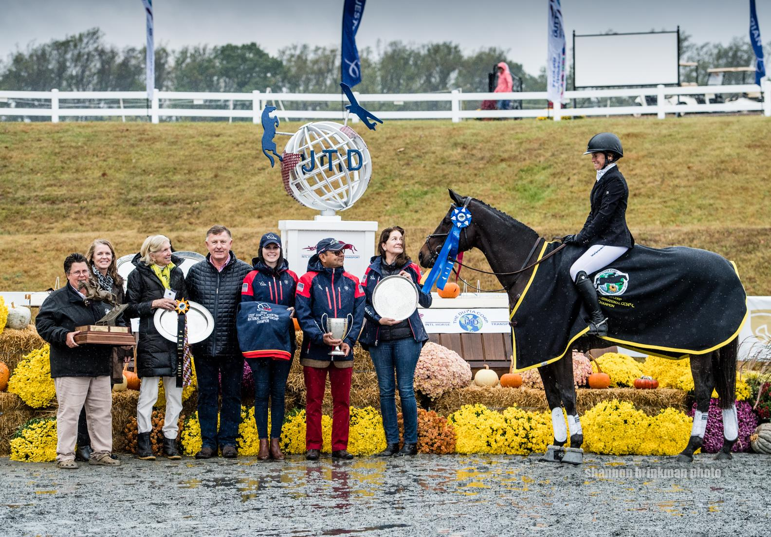 Erin Sylvester Crowned The Dutta Corp./USEF CCI4*-L Eventing National Champion at The Dutta Corp. Fair Hill International