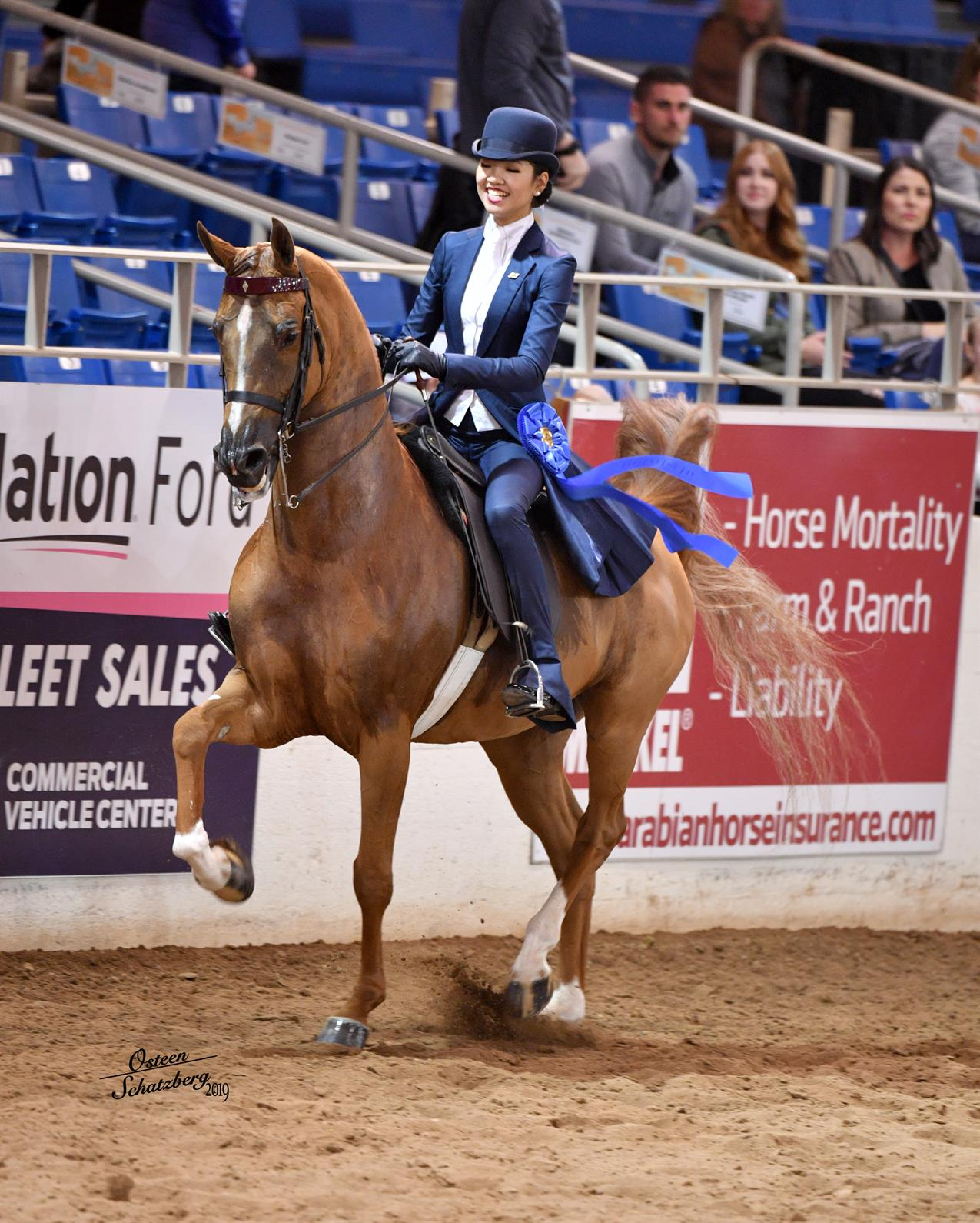 64th Scottsdale Arabian Horse Show Culminates A Week Of Fun And Cold Weather Us Equestrian