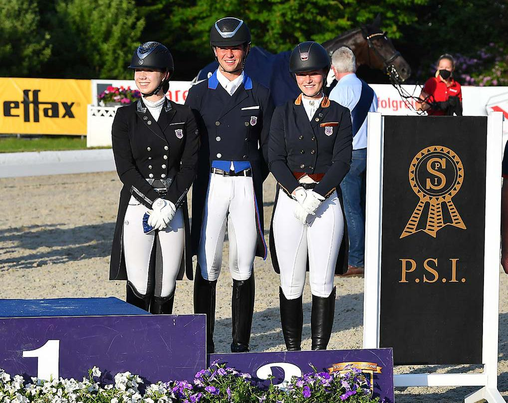 U.S. Team Riders at the CDIO-Y in Hagen, Germany