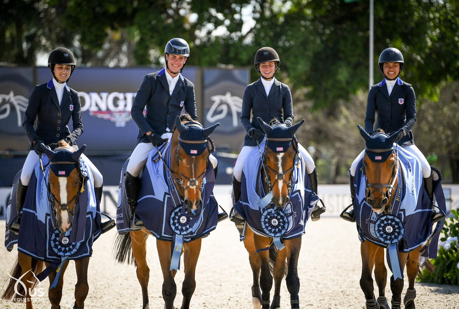 U S Young Rider Junior And Children S Teams Sweep