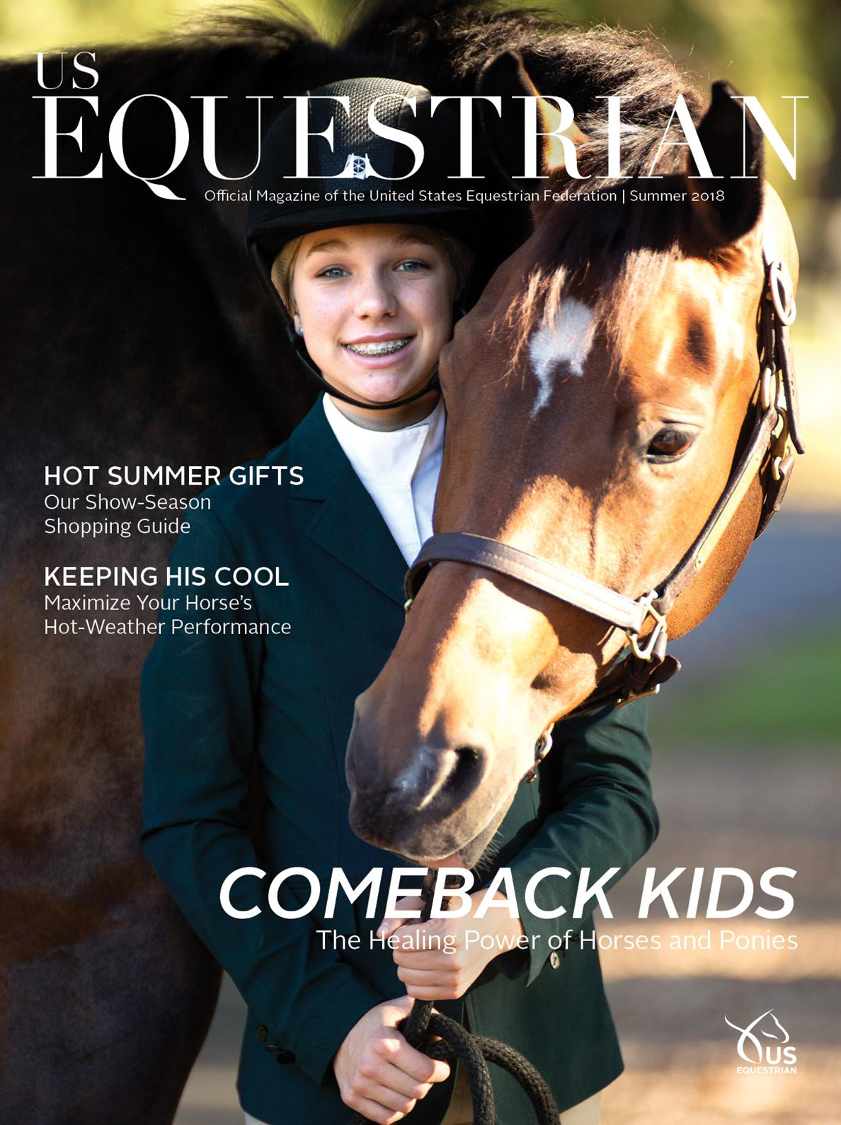 The Horse Brought Us All Back To Normal Us Equestrian