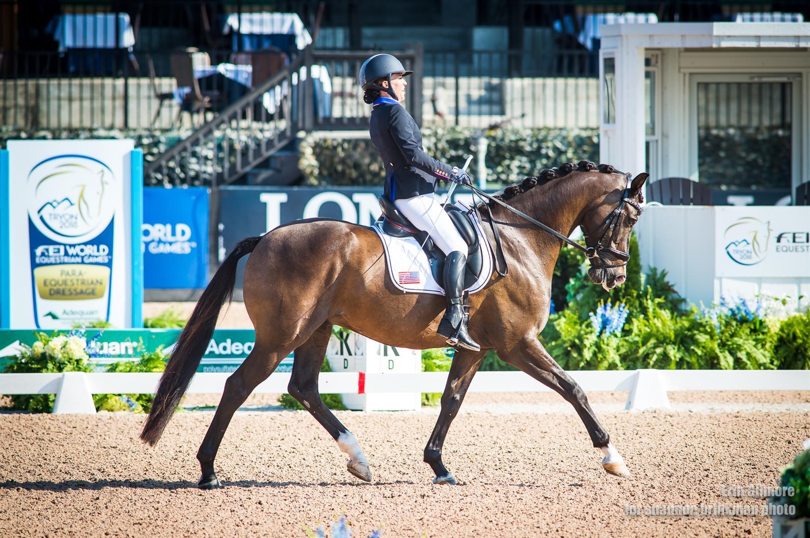 U S Para Equestrian Dressage Team Presented By Deloitte