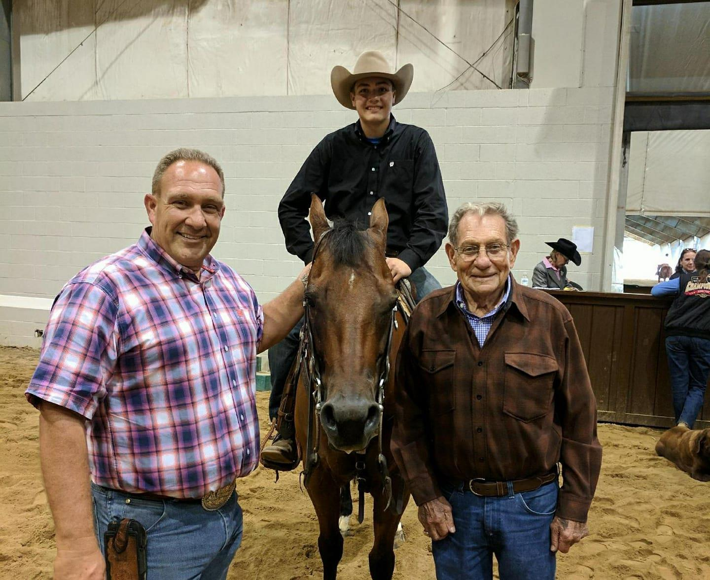 Future Looks Bright with Next Generation of Reining Athletes