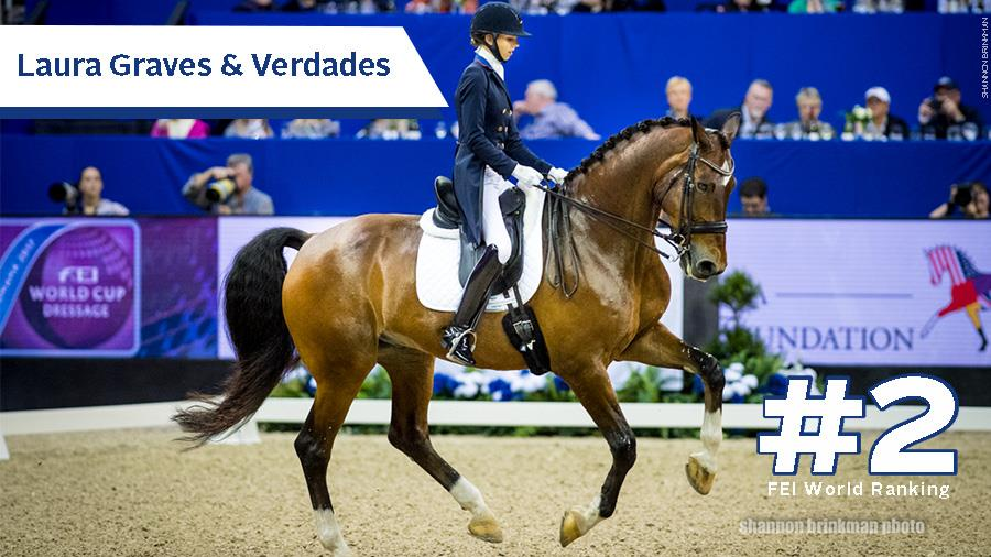 Laura Graves And Verdades Move To Number Two In Fei World
