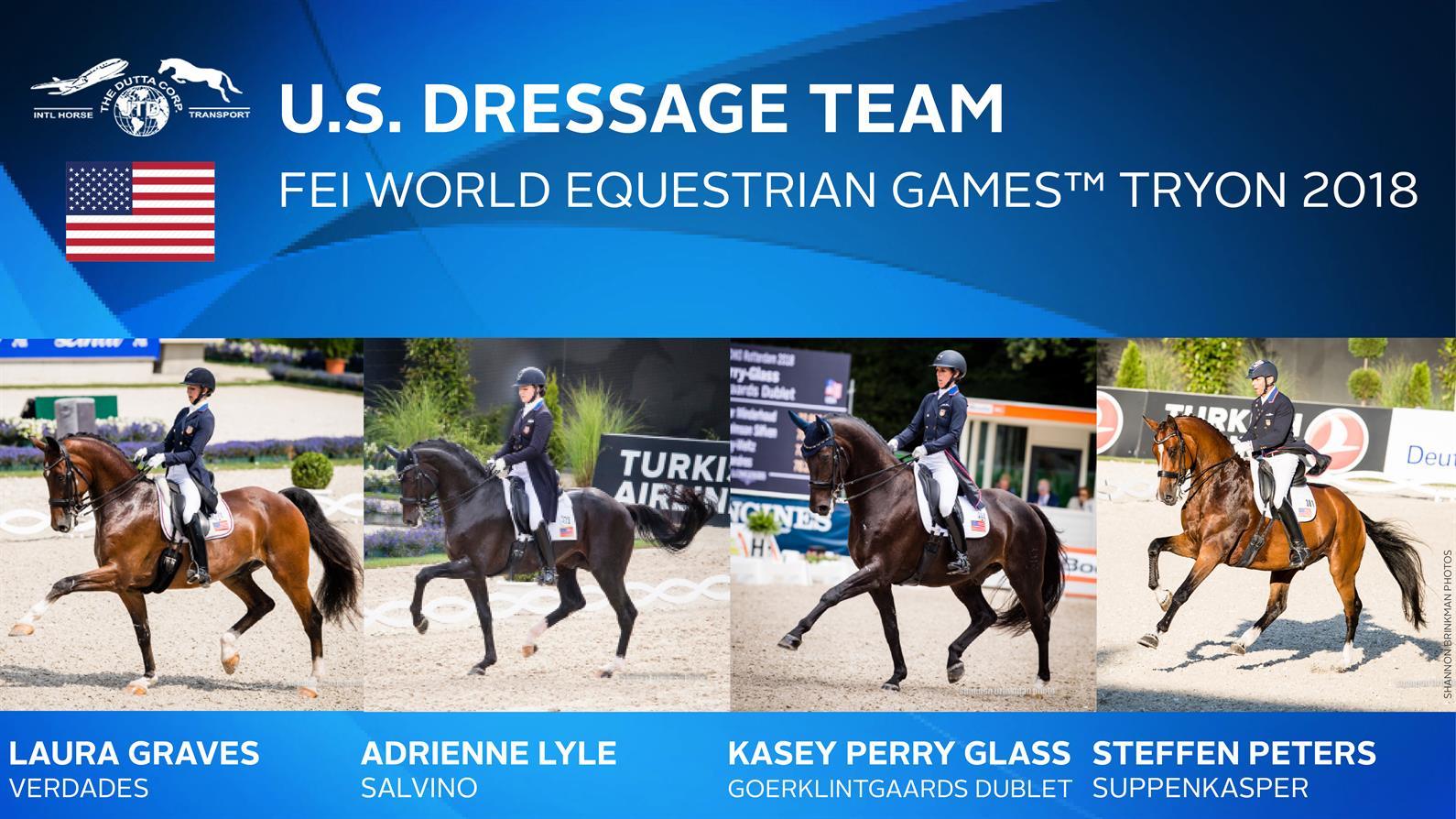 Us Equestrian Announces Substitution Of Alternate Horse