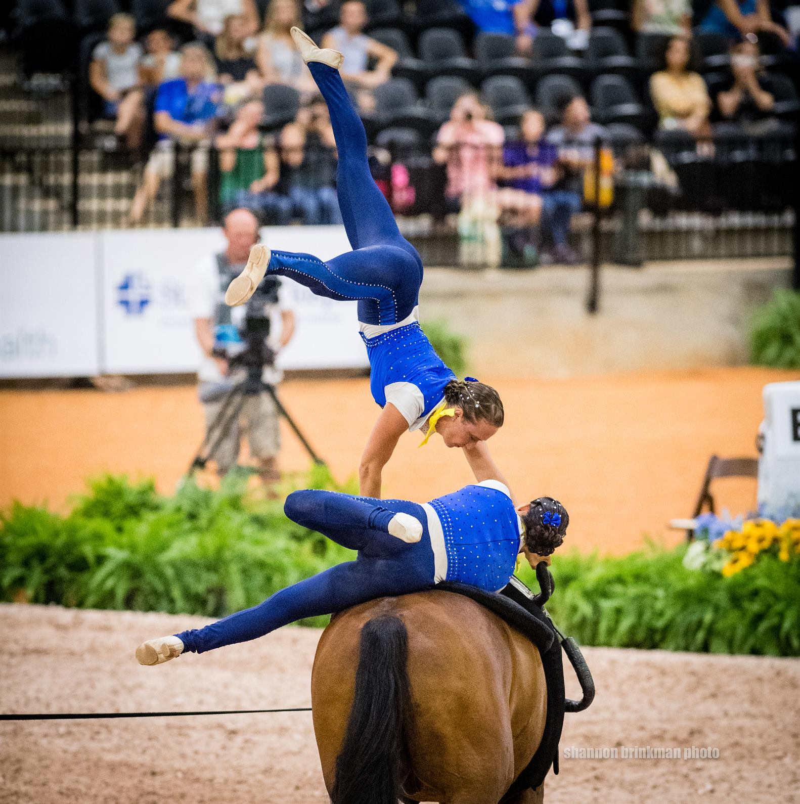 U S Vaulting Pas De Duex Shine In Final Freestyle At Fei