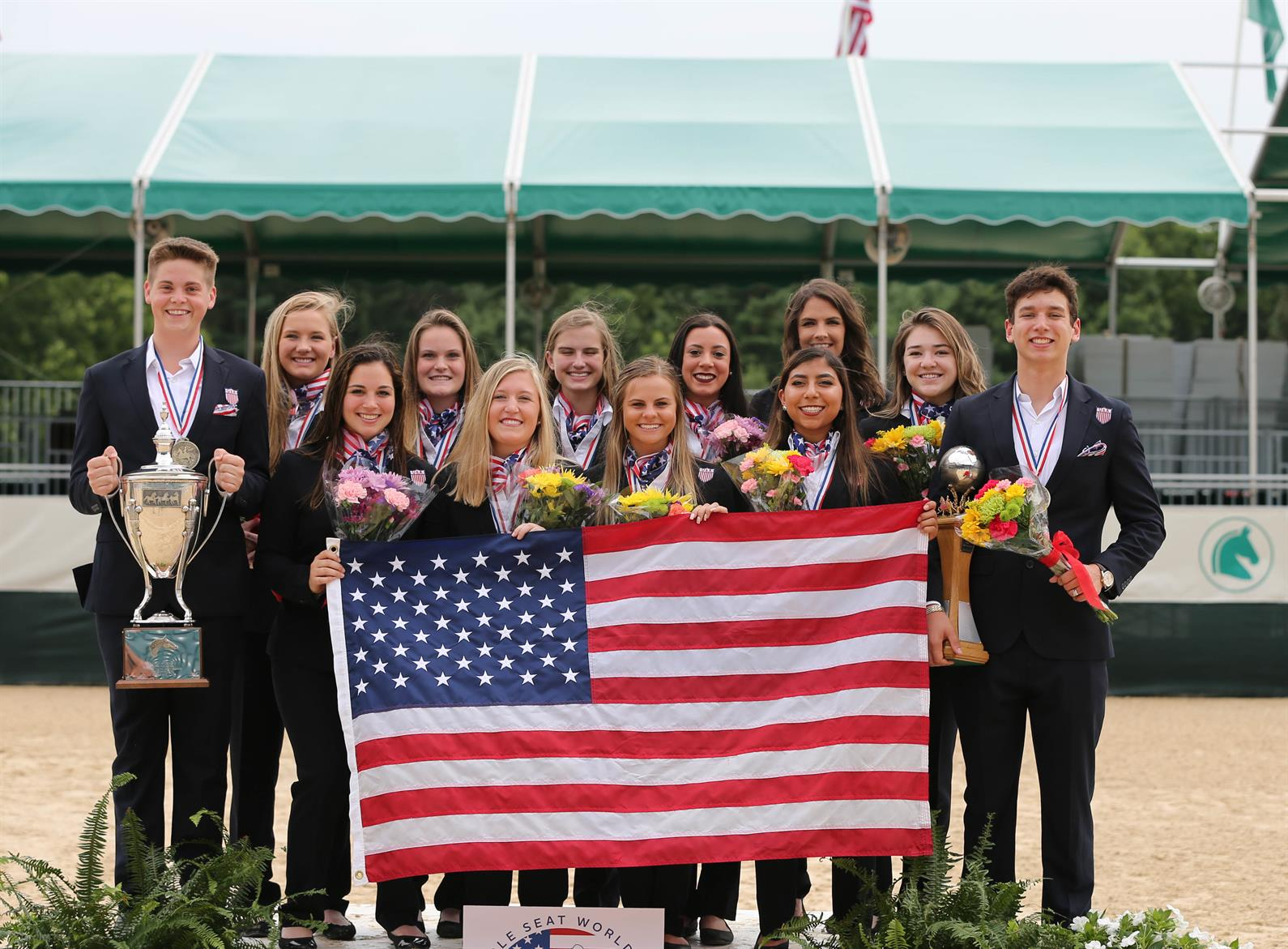 Us Saddle Seat Team Wins Double Gold At 2018 Saddle Seat World Cup
