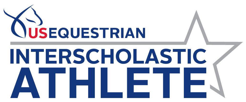 US Equestrian Interscholastic Athlete Program logo