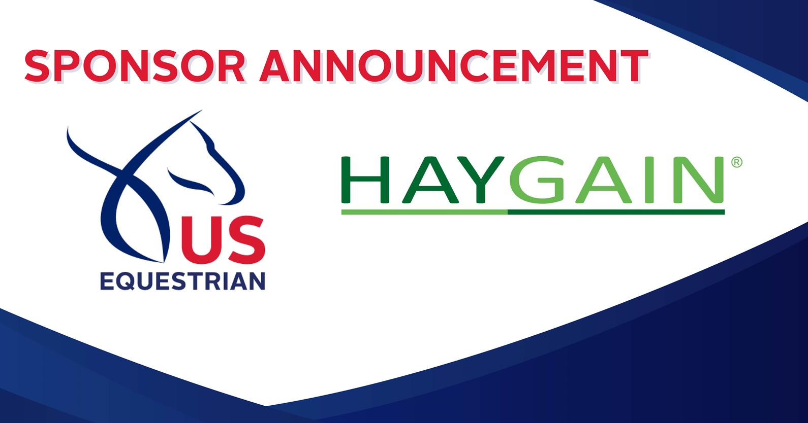 US Equestrian and Haygain Launch New Partnership