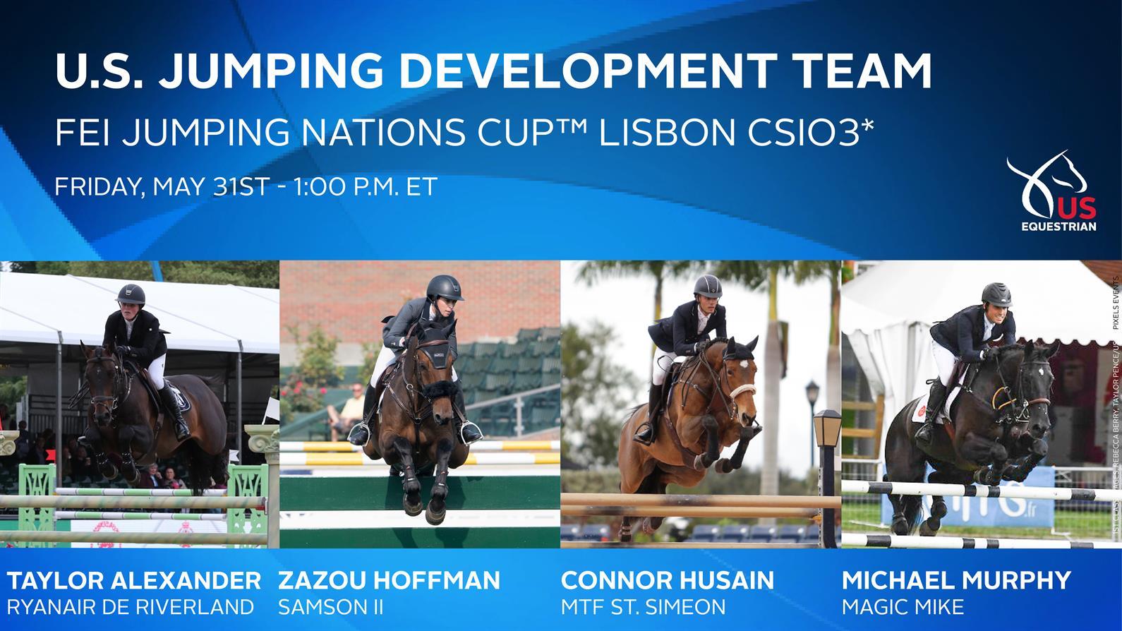 Hoffman Jumps Clear For U S Show Jumping Development Team