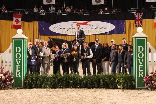 Brian Moggre Wins Dover Saddlery/USEF Hunter Seat Medal