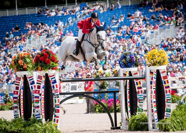 NetJetsR US Jumping Team Shows Strong Individual Finishes At FEI World Equestrian GamesTM Tryon 2018