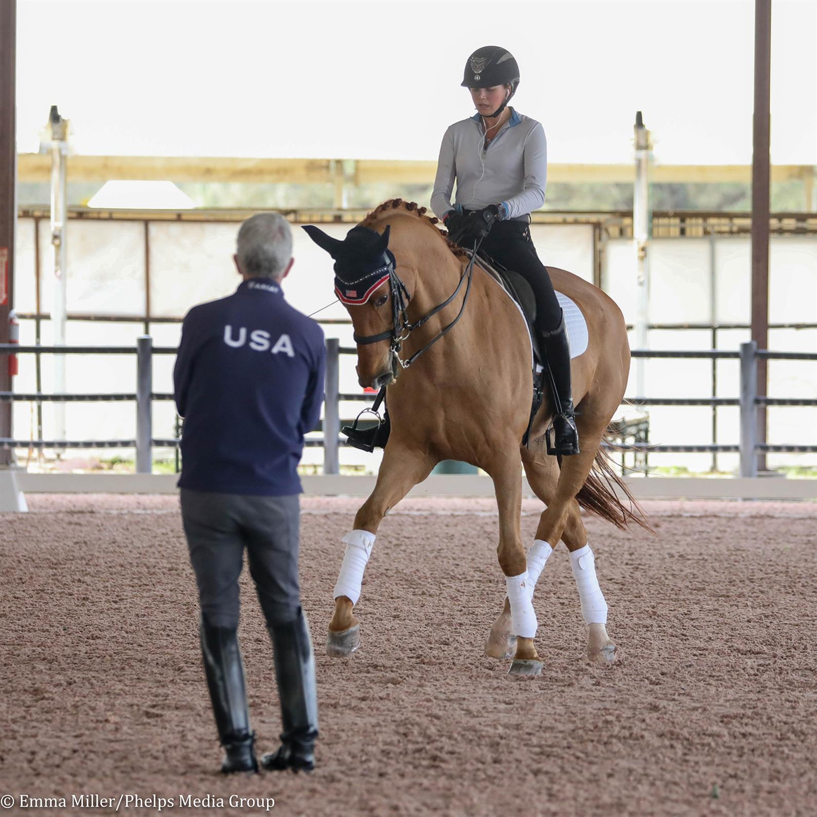 Kayla Kadlubek and Perfect Step working with Robert Dover