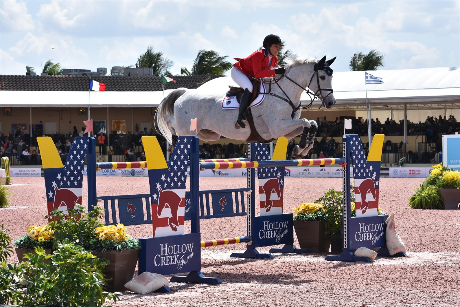 ), Catherine Tyree and Bokai (US Equestrian)