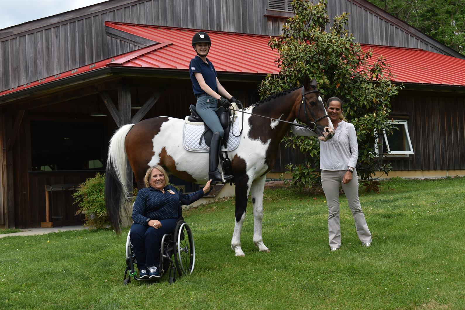 Usef Uspea Adds Two Para Equestrian Dressage Centers Of
