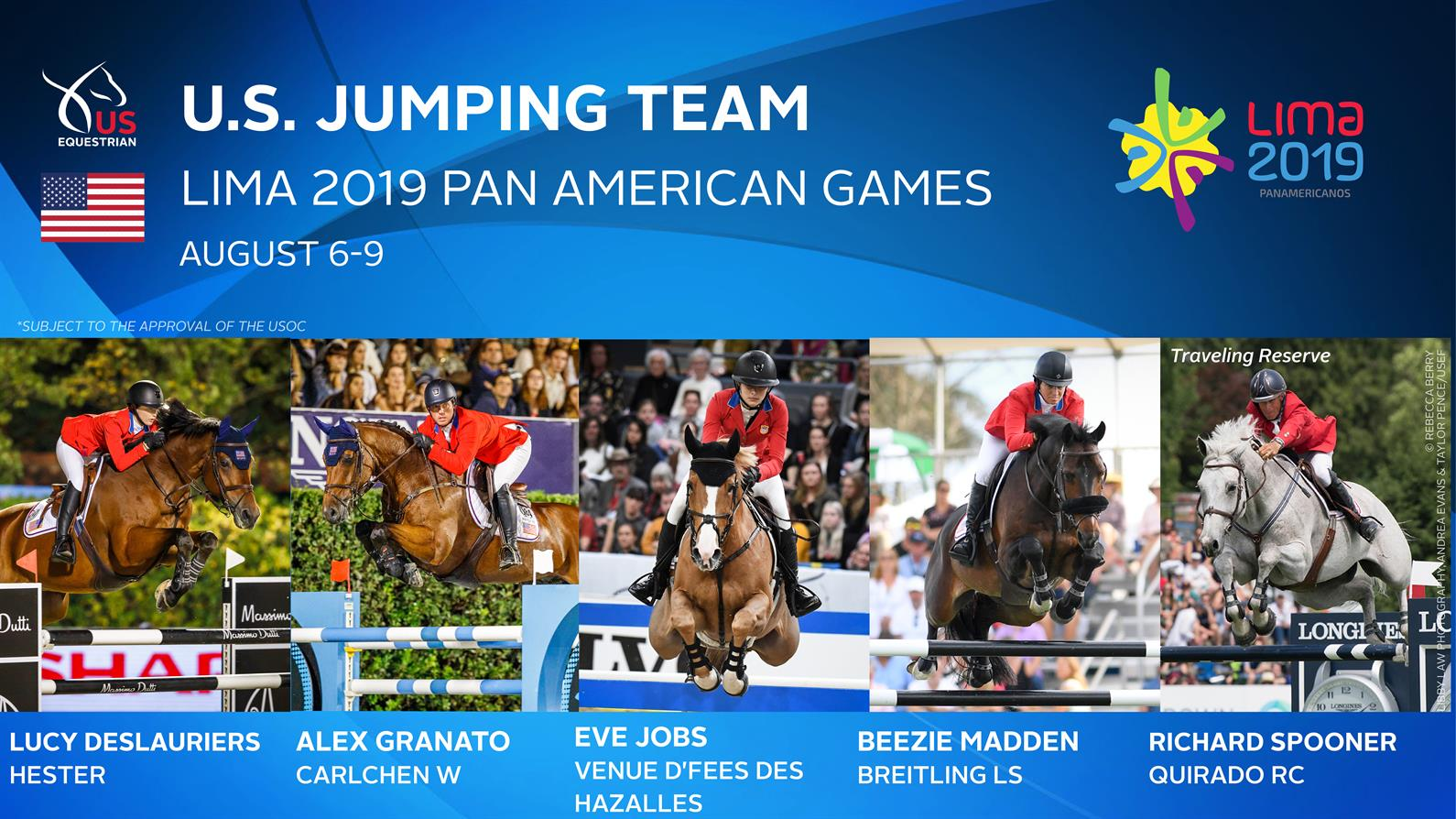 Us Equestrian Announces Update To U S Jumping Team For