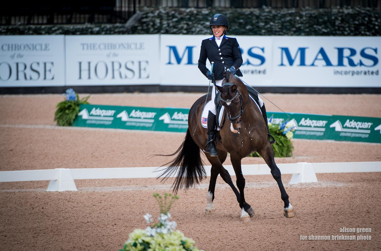 U S Para Equestrian Dressage Scores Historic Day At Fei