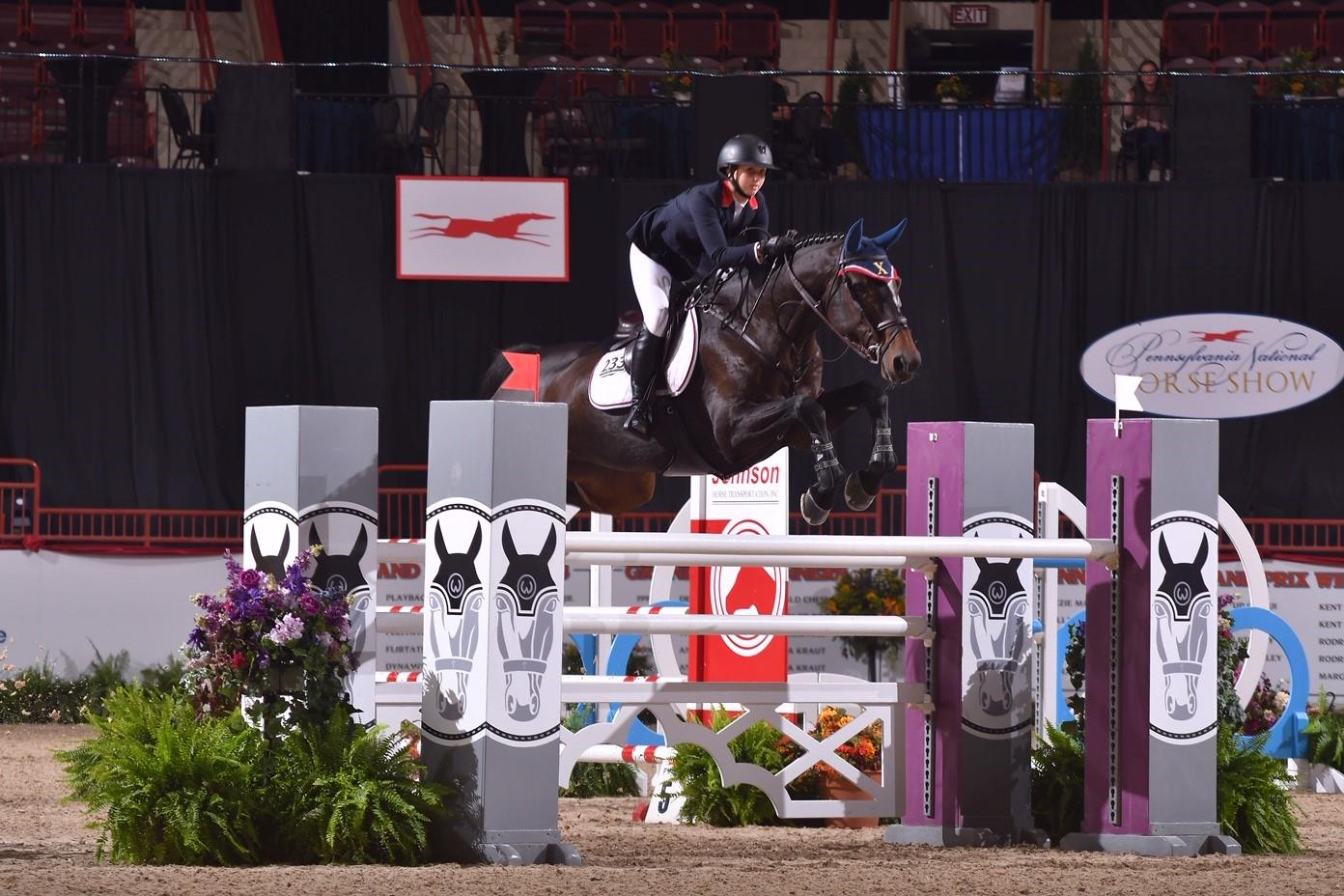 Emma Catherine Reichow Wins Gold in the 2019 Neue Schule/USEF Junior Jumper Individual Championships at the 74th Pennsylvania National Horse Show