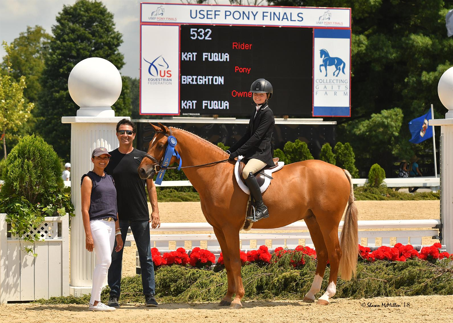 Day Two Of 2018 Usef Pony Finals Presented By Collecting