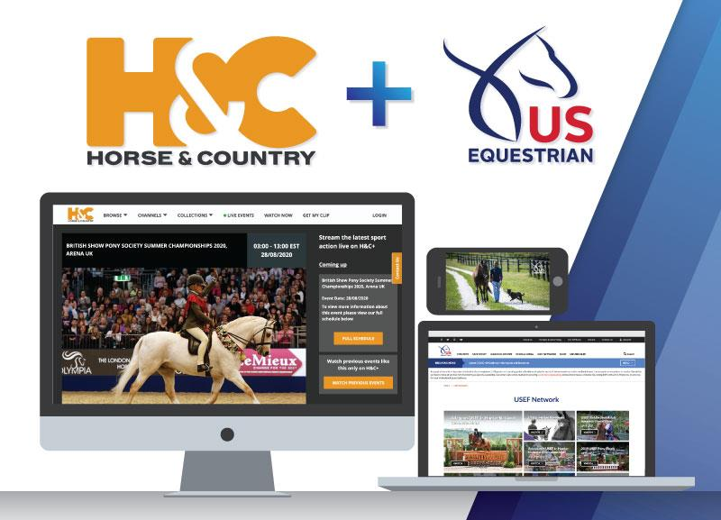 Horse & Country and USEF Network promo image