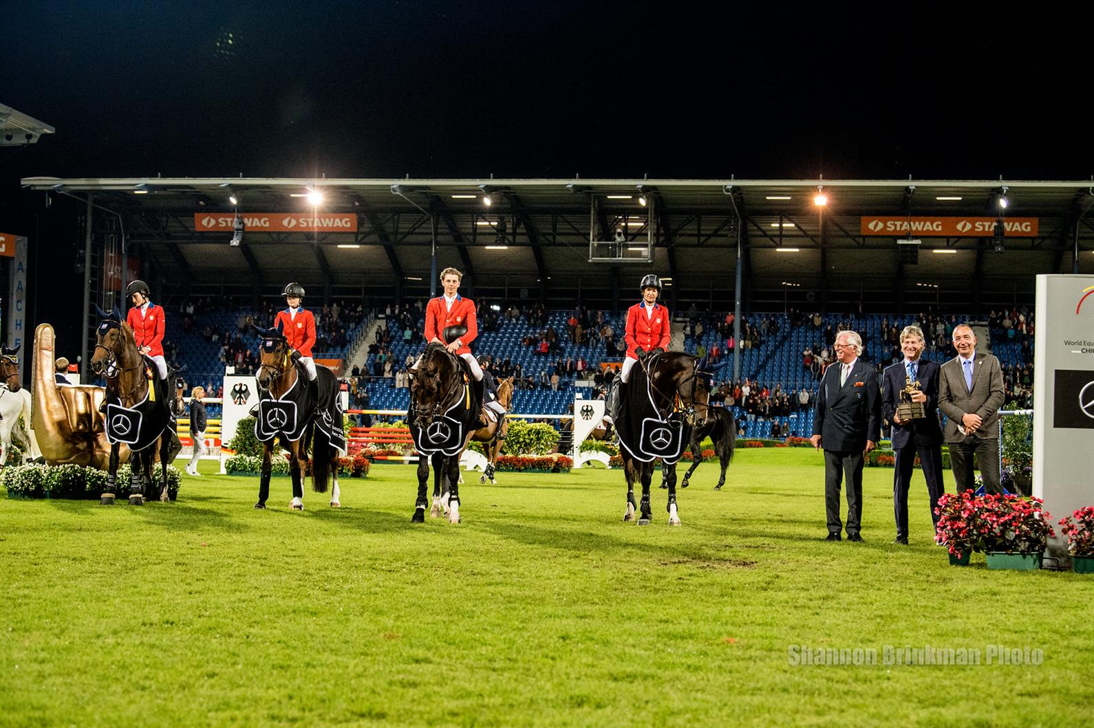 NetJets® U.S. Jumping Team Clinches Victory in CHIO Aachen Mercedes-Benz Nations  Cup CSIO5*   US Equestrian
