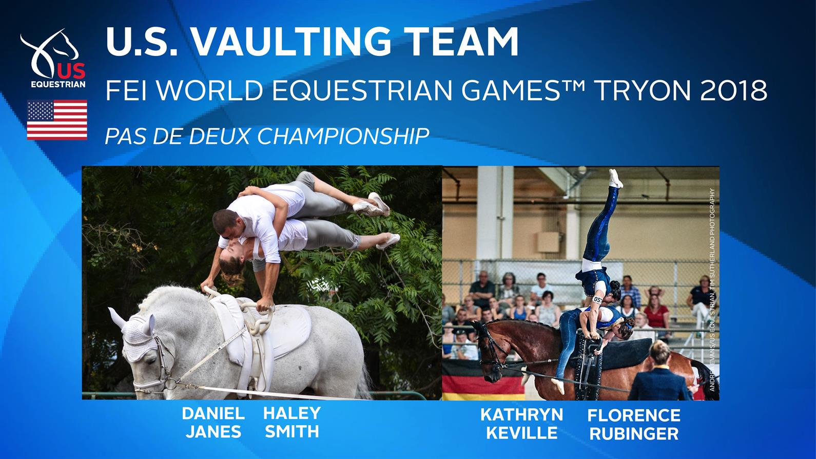 Us Equestrian Names U S Vaulting Team For Fei World